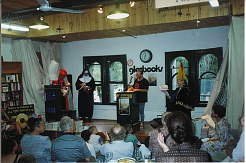 Peter Launching book at gleebooks 1997