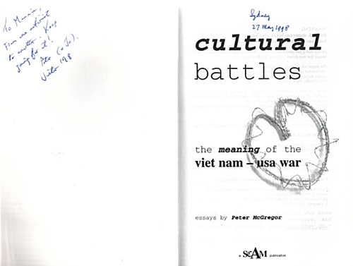Peter autographing book1998