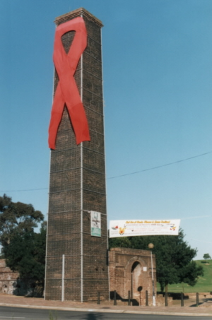 Red Ribbon at Sydney Park