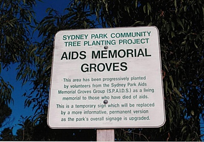 SPAIDS Sign